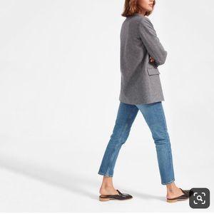 Zara collection oversized herringbone blazer large